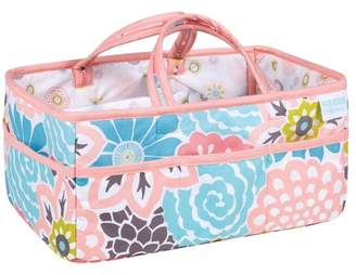 Trend Lab Waverly Baby Diaper Caddy Blooms - Pink