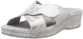 Rohde Women 5713 Mules White Size: