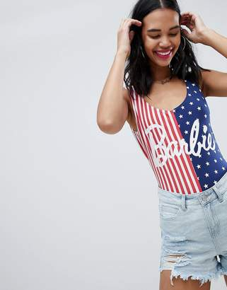 Missguided Barbie American Flag Body
