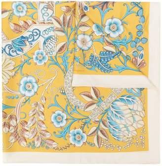 Salvatore Ferragamo floral print neck scarf
