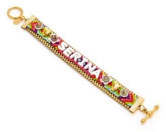 Eliza J Brinker & Personalized 'Say My Name' Bracelet