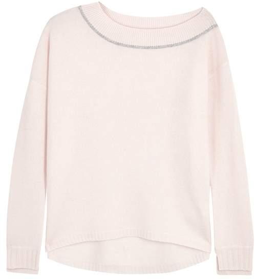 Duffy Pale Pink Cashmere Jumper