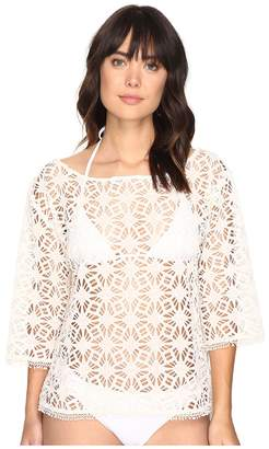 Nicole Miller La Plage By Crochet Beach Cover-Up Women's Swimwear