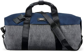 Ted Baker Brunswick Softside Holdall - Grey/Blue - Medium