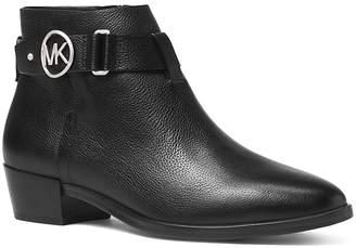 MICHAEL Michael Kors Women's Harland Leather Booties