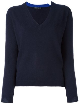 Twin-Set V-neck pullover $229.46 thestylecure.com