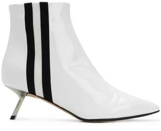Ballin Alchimia Di side-striped ankle boots