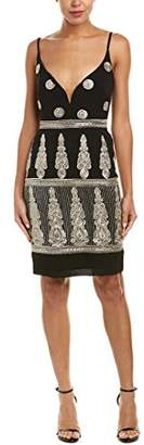 Nicole Miller Women's Enchanted Embroidered Mini