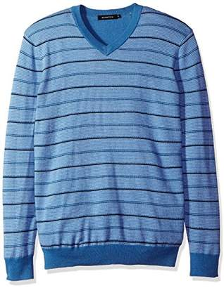 Bugatchi Men's Shadow Stripe Sweater