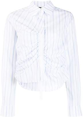 McQ ruched shirt