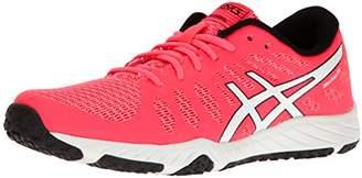Asics Women's Gel-Nitrofuze TR Cross-Trainer Shoe Black White