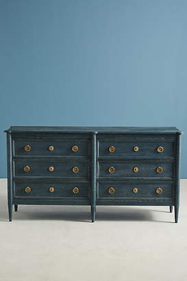 Anthropologie Washed Wood Six-Drawer Dresser