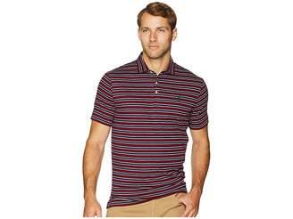 Polo Ralph Lauren Striped Pima Polo Short Sleeve Knit Men's Clothing