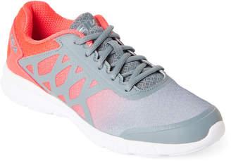 Fila Grey & Neon Pink Memory Faction 3 Sneakers