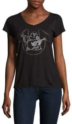 True Religion Studded Buddha T-Shirt