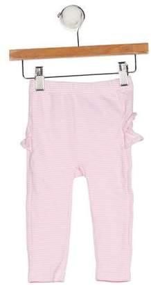 Ralph Lauren Girls' Stripe Ruffle Leggings
