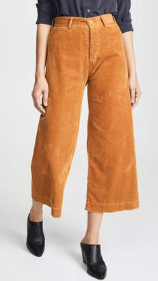 Emerson Thorpe Ryan Corduroy High Waisted Pants