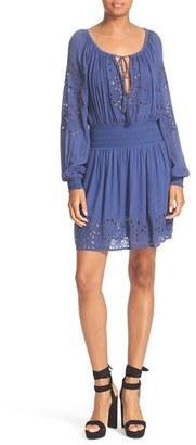 Women's Alice + Olivia Brenda Peasant Dress $350 thestylecure.com