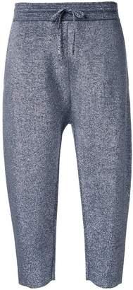 Jil Sander cropped track pants