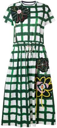 Mira Mikati Flower Patch T-shirt dress