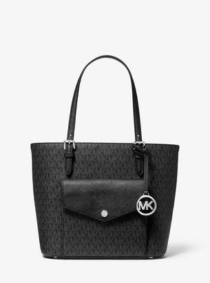 MICHAEL Michael Kors Jet Set Medium Logo Pocket Tote Bag