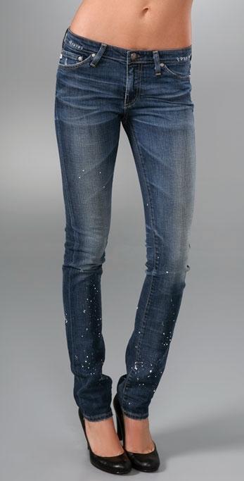AG Adriano Goldschmied Premiere Skinny Straight Jean