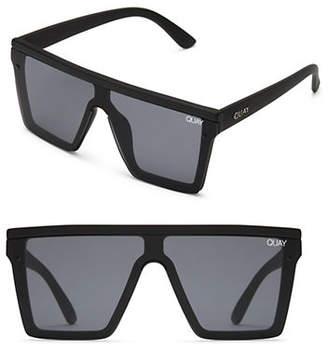 Quay Hindsight Oversized Square Sunglasses