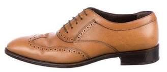 Salvatore Ferragamo Leather Wingtip Brogues