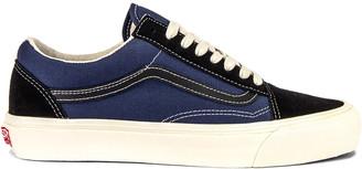 Vans OG Old Skool LX in Black & Insignia Blue | FWRD