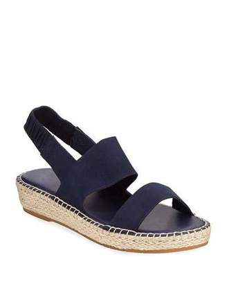 Cole Haan CloudFeel Leather Espadrille Sandals, Navy