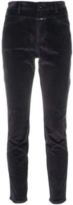 Closed skinny velvet trousers