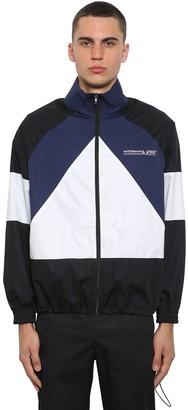 Vetements Mustermann Color Block Zip-Up Jacket
