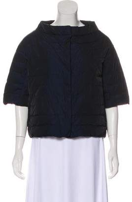 Amina Rubinacci Short Sleeve Quilted Jacket