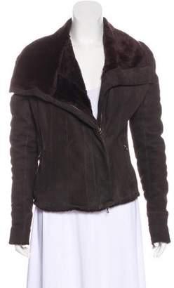Lanvin Shearling Moto Jacket