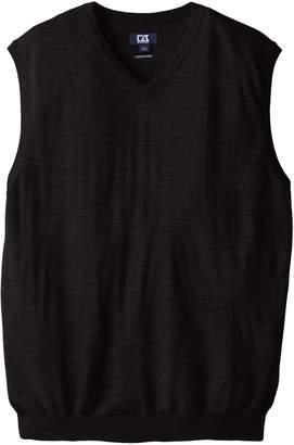 Cutter & Buck Men's Big-Tall Douglas V-Neck Sweater Vest