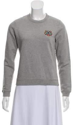 Kenzo Embroidered Crew Neck Sweatshirt