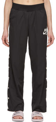 Nike Black Snap-Button Archive Lounge Pants