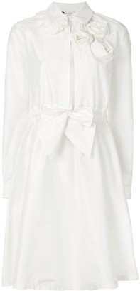 Lanvin rosette-embellished shirt dress