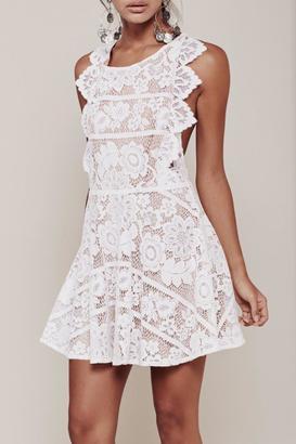 FOR LOVE & LEMONS Gianna Apron Dress $246 thestylecure.com