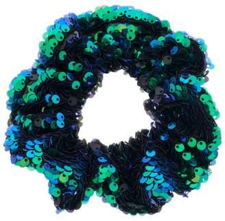 Mudd Sequin Scrunchie Hair Tie