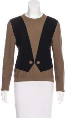 Sonia Rykiel Wool & Angora Knit Sweater