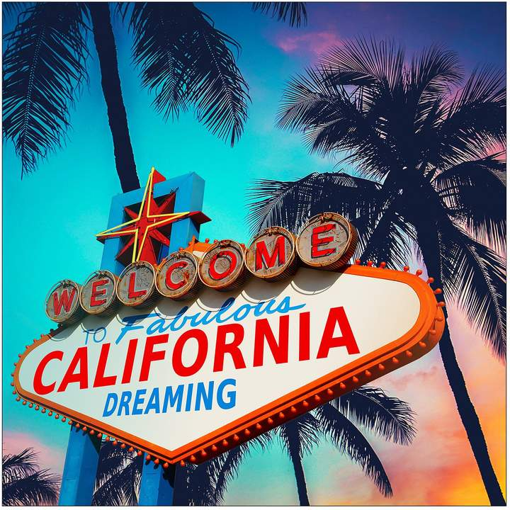 Pro Art Floatglasbild California Dreaming