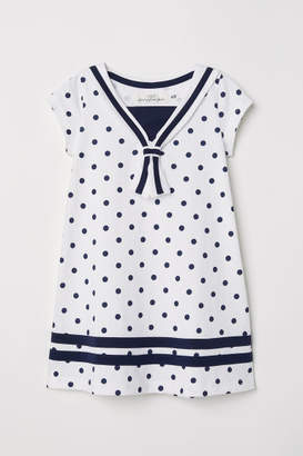 H&M Sailor Dress - White
