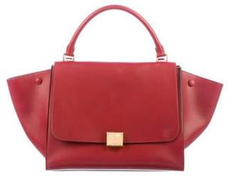 Celine Medium Trapeze Bag Red Medium Trapeze Bag