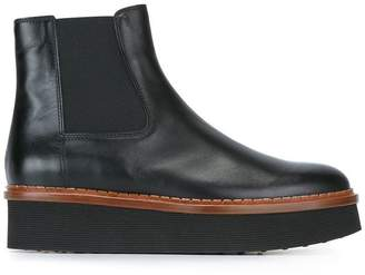 Tod's flatform ankle boots