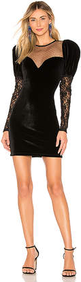 Ronny Kobo Sharon Velvet Dress