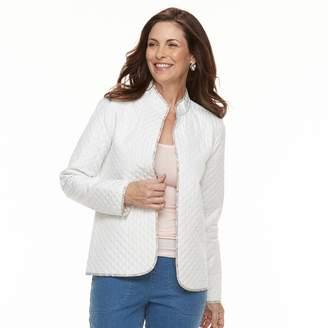 Croft & Barrow Women's Quilted Reversible Jacket