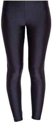 Silky Shimmer Wet Look Leggings-M