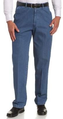 Haggar Men's Big & Tall No-Iron Denim Pant