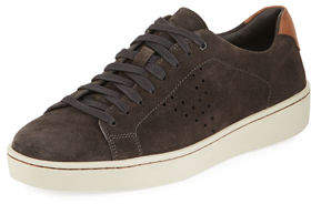 Vince Men's Simon Suede Low-Top Sneakers